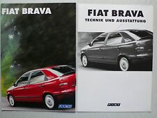Prospekt Fiat Brava, 9.1995, 8 Seiten, folder + Technik/Ausstattung