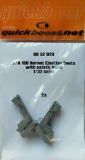 Quickboost 1/32  F/A-18D Hornet Ejection Seats with Safety Belts for Academy