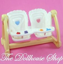 Fisher Price Loving Family Dollhouse Nursery Baby Doll Twin Swing High Chair