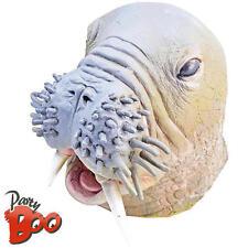 Walrus Head Mask Adults Fancy Dress Sea Animal Mens Ladies Costume Accessory New