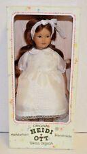 "Heidi Ott Original Handmade Swiss 12"" Doll MIB NRFB E731"