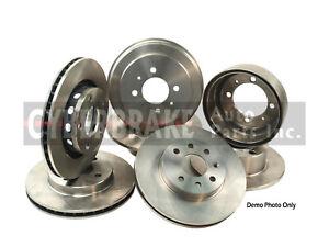 Centric Front Rear Brake Disc Rotors /& Brake Drums 4PCS Fits Mitsubishi Mirage