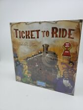 Brand New Ticket To Ride by Alan R. Moon Train Adventure Board Game Sealed