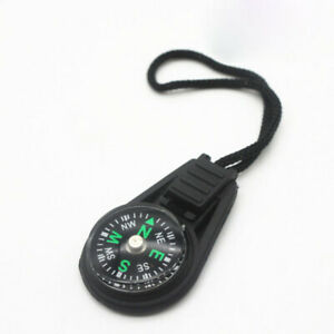 1x Mini Compass Survival Kit W/ Keychain for Outdoor Camping Hiking Portable AUS