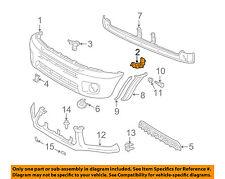 TOYOTA OEM 01-05 RAV4 Front Bumper-Retainer Bracket Left 5253642010