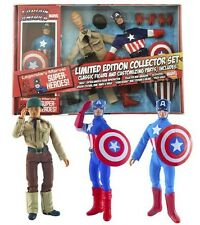 "Diamond Select Captain America Retro 8 inch  Mego"" action figure Steve Rogers"