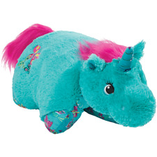 """My Pillow Pets Colorful Teal Unicorn Large 18"""""""