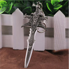 Chic World of Warcraft Weapon Keychain Keyring Merchandise Figure Frostmourne