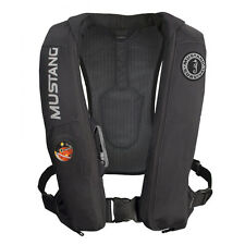Mustang Elite HIT Automatic Inflatable PFD Life Vest Jacket BLACK MD5183