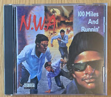 """NWA """" 100 Miles And Runnin'"""" CD EP Ruthless Records Easy E, Ice Cube, Dr Dre"""