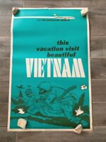 """1966 Fly Fareastern Airlines Vietnam War Spoof Poster 22"""" x 34"""""""