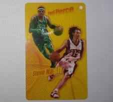 NBA Boston Celtics PAUL PIERCE & Phoenix Suns STEVE NASH 2005-06 Basketball Card