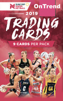 10 x Tap N Play 2019 Suncorp Super Netball Trading Card Packs Tap N Play