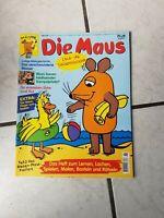 Die Maus (Sendung mit der Maus)#- .- Comic Heft (Bastei Vlg.  Z. 1 ) Heft 6/1998