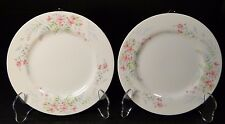 TWO Mikasa Fern Rose Bread Plates 6 1/2  L2005 2 EXCELLENT!