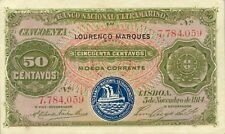 Mozambique P-61 50 centavos 1914 XF