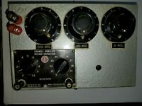 Vintage Custom built Western Electric/CDE decade capacitor test box