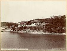 1899, J Murray Jordan, Native Homes, Santiago, CUBA, original photo 20.5x15.25cm