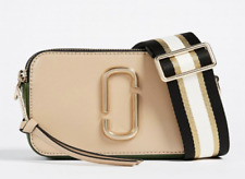 BNWT Marc Jacobs Snapshot Sandcastle MultiColor Block Small Camera Crossbody Bag
