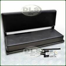 "Black Vinyl Rear Bench Seat Land Rover Ser 88""SWB and Defender 90 (320737)"