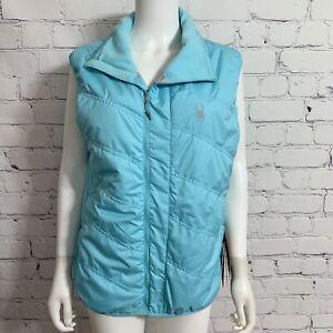 Spyder Women's Exit Insulator Vest XL Pertex Classic Blue Zip New