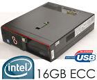 Profess. Workstation Fujitsu 16GB ECC Gigabit Network Intel G4650 Strong Like i5