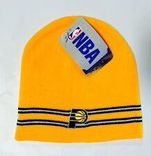Indiana Pacers Knit Beanie Toque Skull Cap Winter Hat NEW NBA - Yellow
