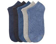 S.Oliver (24118) -10 Paar - Sneaker Socken - blautöne/stone wash - Größe 43/46