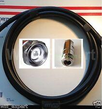 TIMES® 100 FEET LMR400 Coax Cable N F to 7/16 DIN MALE Clamp CB Ham Radio Antenn