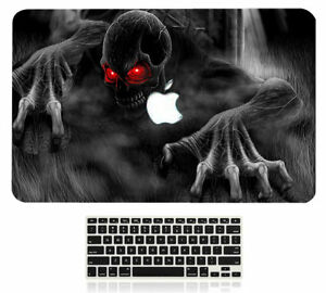 """Laptop Hard Case +Rubberized KB Skin Cover to fit Macbook Pro 13""""/15"""" Air 11/13"""""""