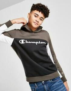 New CHAMPION Boys' Legend Colour Block Fleece Hoodie from JD Outlet