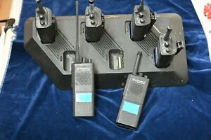 Motorola Radius GP300, 6x + charger set sold as spares but all work with NiMH