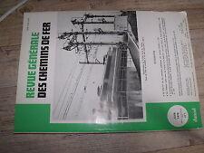 µµ Revue Generale des Chemins de Fer 1978 Juin Liaison radio avec trains à SNCF