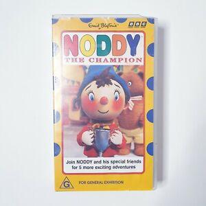 Noddy The Champion VHS Movie Video Free Postage PAL AUS Kids Cartoon