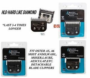 PRO PET GROOMING HLD(LIKE TITANIUM)Blade*Fit Oster A5 A6,Most Andis,Wahl Clipper