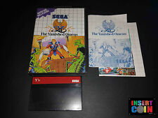 JUEGO SEGA MASTER SYSTEM  Y´S THE VANISHED OMENS