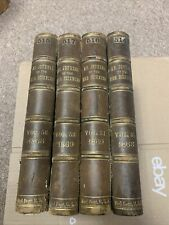 American Journal Medical Science 1868-69~Leather 4 Vol~decor~antique