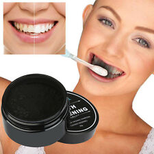 Natural Activated Teeth Whitening Powder Toothpaste Charcoal Bamboo Hot Selling