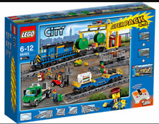 LEGO City 66493 Freight train Superpack 4 in 1 (60050+60052+7895+7499). New