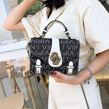 Korean Hot Sale Letter Square Hand Bag - Black (LSG070375)