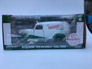 GREENLIGHT 18240  CHEVOLET VAN green machine Krispy Kreme chase 1:24