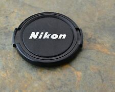 Retro Genuine Nikon NIKKOR 52mm Snap-on Front Lens Cap Japan (#1489)