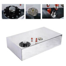 17 Gallon Top-feed Polished Aluminum Race Drift Fuel Cell Tank Level Sender Caps
