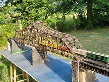 M1910' Bridge Ho ga, with detail pkg deco, piers & approaches! Mao @ $600.00