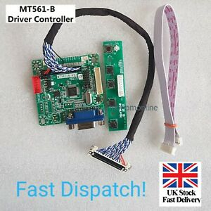 "MT561-B Universal LVDS LCD Monitor Driver Controller Board 5V 10""- 42"" M"