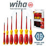 Wiha 41156 SlimFix 7 Piece VDE 1000v Slot/Flat Pozi Screwdriver Set - NEW Pico