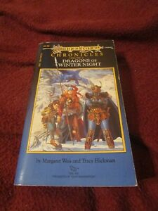 Dragonlance : Dragons of Winter Night Margaret Weis & Tracy Hickman first 1985