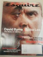 Esquire Magazine November 2020   David Byrne & Spike Lee