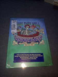 THE GRATEFUL DEAD fare thee well Soldier Field Chicago IL 3 CD + 2 Blu-ray