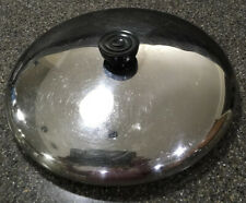 "Revere Ware 10"" Stainless Steel Replacement Lid For Skillet Or Dutch Oven USA"